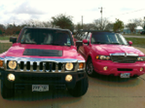 Pink Hummer Limousine Dallas tx