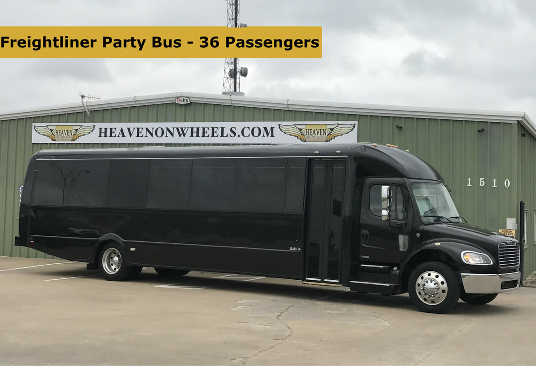 Party bus with restroom dallas