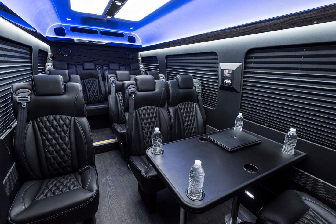 Mercedes Shuttle Corporate Travel Dallas Fort Worth