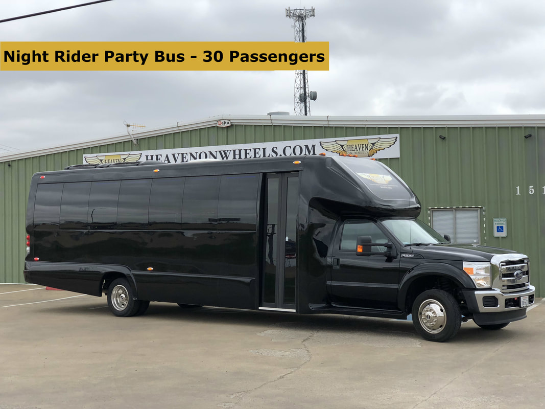30 passenger party bus dallas