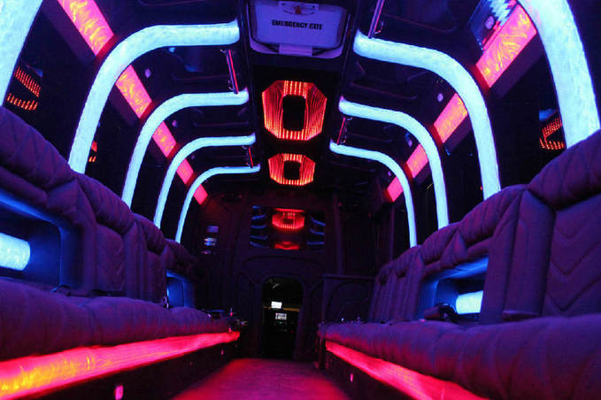coolest party bus in Dallas